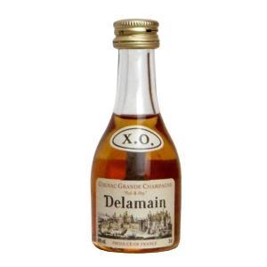 デラマン XO ペール&ドライ コニャック 40% 700ml 箱入り ミニチュアボトル付き 正規輸入代理店品 (フランス・ブランデー)|wineuki