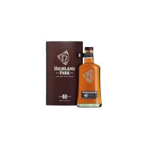 ハイランドパーク 40年 48.3% 700ml 箱入り 正規輸入代理店品 (シングルモルトスコッチウイスキー)|wineuki
