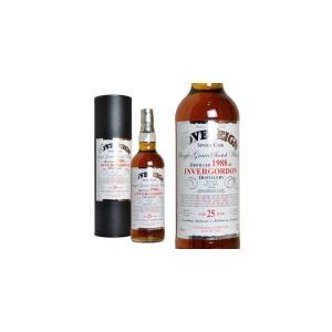 ハンターレイン ソブリン インバーゴードン 1988年 25年熟成品 シェリーカスク 58.1% 700ml 箱入り (グレーンウイスキー)|wineuki