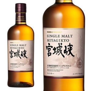 ニッカウヰスキー シングルモルト 宮城峡 45% 700ml 正規品 (シングルモルトウイスキー)|wineuki