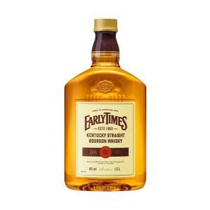 典型的な伝統あるバーボンウイスキー、アーリータイムズイエローラベル!リンカーンがアメリカ大統領に就任...