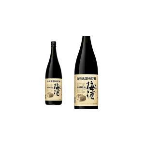 サントリー 山崎蒸留所貯蔵 焙煎樽仕込梅酒 14% 1800ml