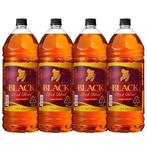ブラックニッカ リッチブレンド 40% 4000ml 4本 ペットボトル 正規 送料無料 (ブレンデッドウィスキー)