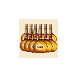 スーパーニッカ 43% 700ml 12本 正規品 送料無料 (ブレンデッドウイスキー)