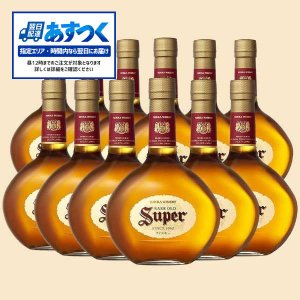 あすつく スーパーニッカ 43% 700ml 12本 正規品 送料無料 (ブレンデッドウイスキー)|wineuki