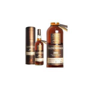 ザ・グレンドロナック 2003 13年 ペドロヒメネスシェリーパンチョン カスクストレングス カスクナンバー1824 55.2% 700ml 箱入り 正規|wineuki