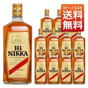 ハイニッカ 39% 720ml 1ケース12本入り ニッカウヰスキー 正規品 (ブレンデッドウイスキー) 送料無料|wineuki