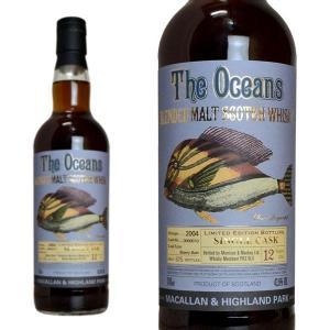 ザ・オーシャンズ マッカラン&ハイランドパーク 2004 シェリーバット ウィスク・イー 43.6% 700ml 正規 (スコットランド ブレンデッド ウイスキー)|wineuki
