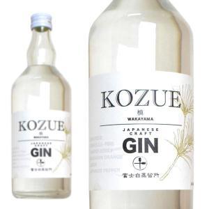 槙 KOZUE GIN 富士白蒸留所 47% 700ml (日本 クラフトジン) wineuki