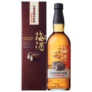 サントリー 山崎蒸留所貯蔵 焙煎樽熟成 梅酒 17% 750...