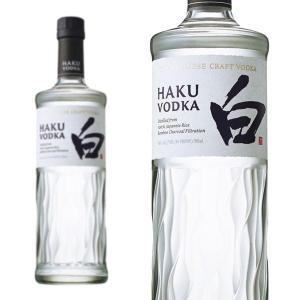 サントリー クラフトウオツカ HAKU 白 40% 700ml 正規 (日本 ジャパニーズ ウォッカ)|wineuki