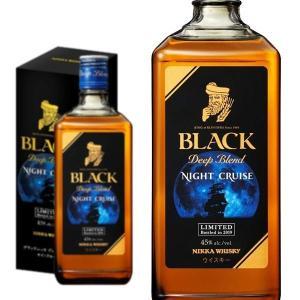 国産ウイスキー愛好家必見!ブラックニッカ ディープブレンドの特徴である、心地よく長く続く、ビターな余...