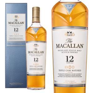 ザ・マッカラン トリプルカスク 12年 40% 700ml 箱入り 正規 (シングルモルト スコッチ ウイスキー)|wineuki