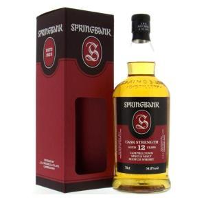 スプリングバンク 12年 カスクストレングス 54.8% 700ml 箱入り 正規 (シングルモルトスコッチウイスキー)|wineuki