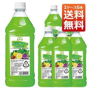 果実の酒 ベジサワー セロリ &レモン 18% PET 1800ml  ×6本 ニッカウヰスキー (リキュール) 送料無料|wineuki
