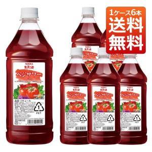 果実の酒 ベジサワー トマト 18% PET 1800ml  ×6本ニッカウヰスキー (リキュール) 送料無料|wineuki