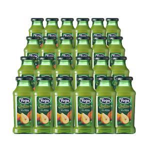 ヨーガ スッコ・ディ・ペーラ(洋ナシ) 200ml×24本 (フルーツジュース) ヨーガ各種2ケースまで同梱可能、その他商品とは同梱不可 wineuki