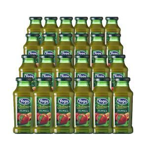 ヨーガ スッコ・ディ・ペスカ(ピーチ) 200ml×24本 (フルーツジュース) ヨーガ各種2ケースまで同梱可能、その他商品とは同梱不可 wineuki
