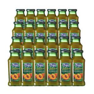 ヨーガ スッコ・ディ・アルビコッカ(アプリコット) 200ml×24本 (フルーツジュース) ヨーガ各種2ケースまで同梱可能、その他商品とは同梱不可 wineuki