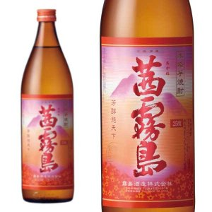 茜霧島 芋焼酎 900ml 25% 霧島酒造株式会社 wineuki