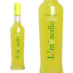 リモンチェッロ ソーレ ミオ イル・ベネドゥーチェ社 30% 375ml (イタリア カンパーニャ リキュール)|wineuki