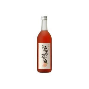 和歌のめぐみ 紀の里の苺酒 720ml 世界一統 (リキュール)|wineuki