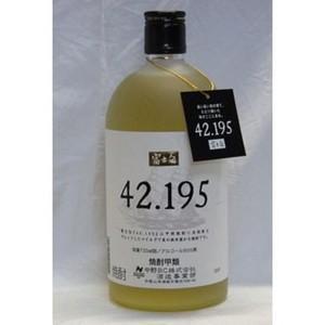 富士白 42.195 25% 720ml 麦焼酎 中野BC株式会社 wineuki
