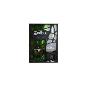 アードベッグ 10年 ビッググラス ギフトパック (シングルモルトスコッチウイスキー)|wineuki
