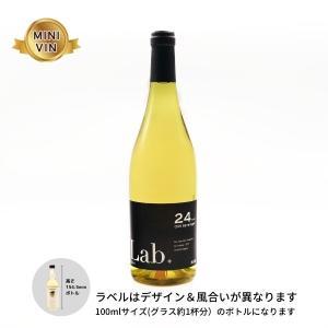 日本ワイン ノーザンアルプスヴィンヤード(長野)/Lab.シャルドネ24(白) MINIVINサイズ 100ml|wineworksaoyama