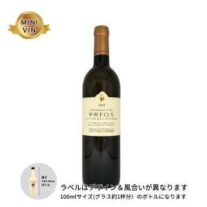 日本ワイン ココ・ファーム・ワイナリー(栃木)/甲州 F.O.S (オレンジ)MINIVINサイズ 100ml|wineworksaoyama