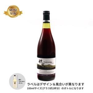 日本ワイン 兎田ワイナリー(埼玉)/秩父ルージュ NV(赤)MINIVINサイズ 100ml|wineworksaoyama