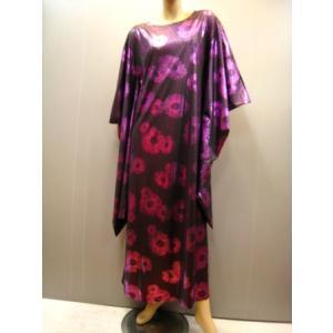 ステージドレス、鈍い光沢エナメル風キモノドレス ピンク wing12