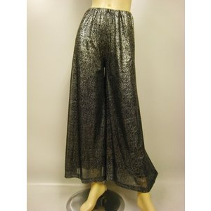 ジャズパンツ 社交ダンス ストレッチパンツ 衣装 オーバースカート パニエ ダンスウェア  黒|wing12