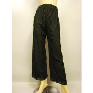 ジャズパンツ 社交ダンス ストレッチパンツ 衣装 オーバースカート パニエ ダンスウェア  黒A|wing12
