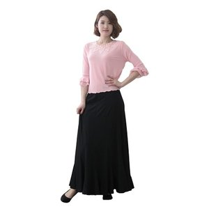 コーラス衣装 ブラウス 演奏会 ステージ パーティー カラオケ衣装 レディース ダンスウェア 衣装 Mサイズから Lサイズ ピンク|wing12