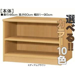遊具棚 高さ60cm幅81〜90cm奥行46cm厚棚板(耐荷重30Kg)書籍本棚 オープン 勉強部屋収納飾る wing1