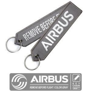 LIMOX キーチェーン キーホルダー フライトタグ  カラー グレー エアバス AIRBUS RE...