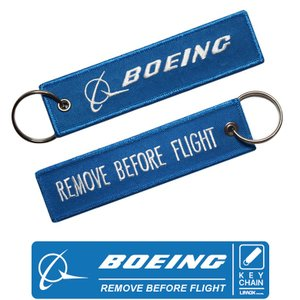 LIMOX キーチェーン フライトタグ ボーイング ロゴ Boeing REMOVE BEFORE ...