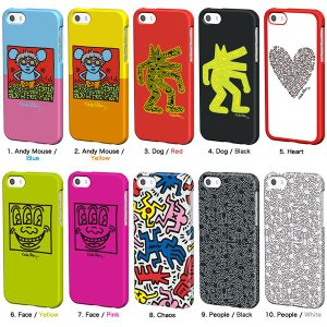 キース・ヘリング iPhone5s/5(アイフォン5s)用 イヤフォン付き ケース 『Keith Haring Collection Bezel Case for iPhone 5/5S with Earphones』 スマホ|winglide