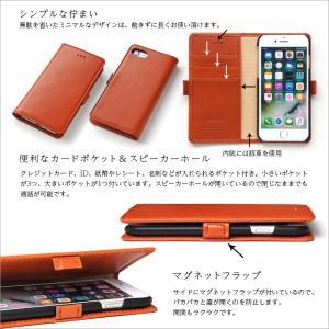 iPhone8 iPhone7 ケース 手帳 iPhone6s 手帳型ケース 本革レザー|winglide|05