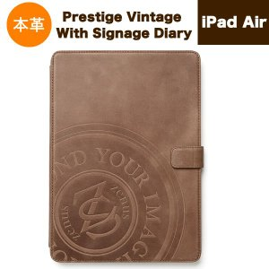 iPad Air(アイパッドエアー)用 本革 レザー ケース 『ZENUS Prestige Vintage With Signage Diary Z2852iPA』|winglide