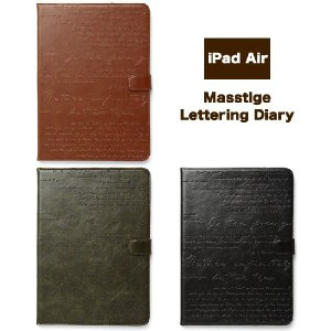 iPad Air (アイパッドエアー)用 レザー ケース 『ZENUS Masstige Lettering Diary Z2861iPA Z2862iPA Z2863iPA』 レザーケース 革 皮|winglide