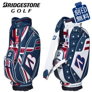 予約品★【数量限定】ブリヂストンゴルフ キャディバッグ CBG170 9.5型 47インチ対応 全英オープン(BT) /全米オープン(US) 2021年モデル |winning-golf