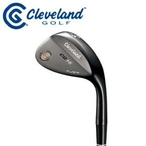 【在庫処分】ダンロップ Cleveland クリーブランド CG15 ブラックパール ツアージップグルーブ ウェッジ DUNLOP ゴルフ 2011年モデル 【新品】 |winning-golf