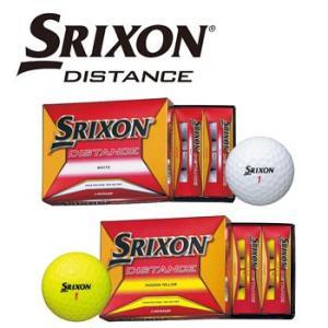ダンロップ スリクソン DISTANCE 1ダース12球入り  SRIXON DUNLOP ゴルフボール ディスタンス |winning-golf
