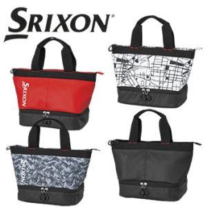 ダンロップ SRIXON スリクソン 2段式ラウンドトートバッグ GGF-B5013 DUNLOP ゴルフ (スポーツバッグ)|winning-golf
