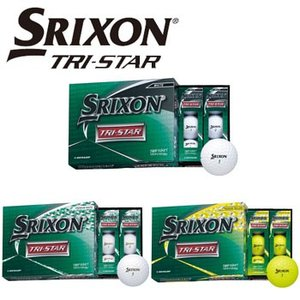 [2020/NEW]ダンロップ SRIXON スリクソン TRI-STAR ゴルフボール 1ダース(12球入り) トライスター DUNLOP ゴルフボール 【セール価格】|winning-golf