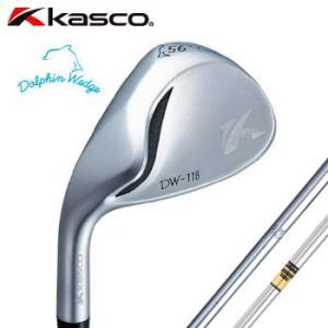 [レフティ]キャスコ ドルフィンウェッジ DW-118 Lefty ストレートネック N.S. PRO 950GH ダイナミックゴールド 左用 KASKO DOLPHIN WEDGE|winning-golf