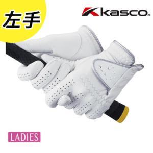 キャスコ クラシカルフィット レディースゴルフグローブ(手袋) 左手 GF-1517L 羊革 CLASSICAL FIT KASCO 女性用 [メール便可能]|winning-golf