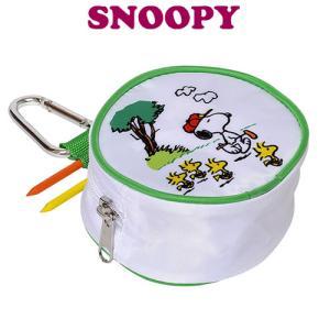 [NEW]スヌーピー&ギャラリー ボールケース (C-91) SNOOPY PEANUTS ウッドストック|winning-golf